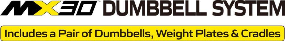 MX30 Rapid Change Dumbbell System