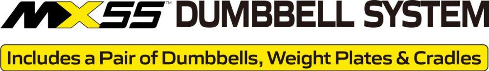 MX55 Rapid Change Dumbbell System